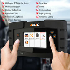 Automotive OBD2 Full System Car Diagnostic Tool SRS ABS DPF Oil Reset ECU Coding