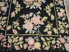 Victorian style Kashmir needlepoint rug (  6ft. x 4ft. )