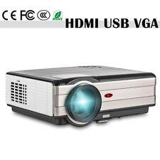 4000lumen LED Home Theater Projector HD 1080p Multimedia Movie Game HDMI USB VGA