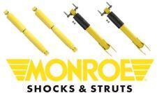 Monroe Front & Rear Shock KIT 2011 GMC Sierra 3500 HD   34810 / 34811