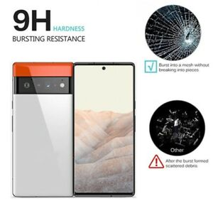 For Google Pixel 6 6 Pro Full Glue Tempered Glass Screen Cover Screen Protector