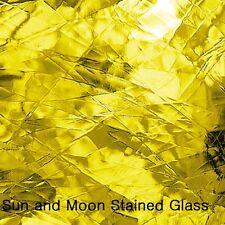 "8 X10"" Spectrum Glass Sheet S 161A - Yellow Artique Stained Glass Sheet"