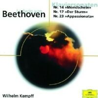 WILHELM KEMPFF - KLAVIERSONATEN 14,17,23  CD NEW!