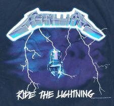 Vintage 90s 1994 Metallica Ride The Lightning Concert T Shirt XL Original GIANT