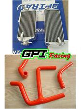 FOR Suzuki RMZ 450 2008-2014 2013 2012 11 10 09 aluminum radiator and hose