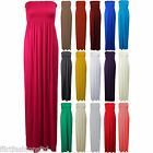 Women Sheering Gather Plus Big Size Maxi Dress Ladies Boobtube Bandeau Top Skirt