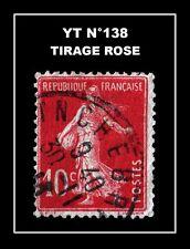 YT N°138 : TIRAGE ROSE !!!