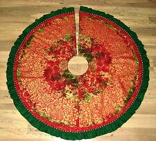 "Stonehenge Northcott Handmade Finished Christmas Panel Fabric Tree Skirt 45"""