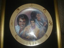Elvis 'The Special Request' Susie Morton Plate Custom Framed In Very Good Cond