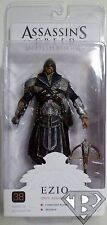 "EZIO ONYX ASSASSIN Assassin's Creed Brotherhood 7"" inch Game Figure Neca 2011"
