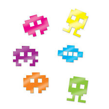 80s ICONS LIKE SPACE INVADERS PARTY TABLE CONFETTI 14G BAG!