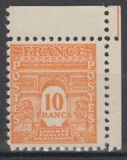 FRANCE : ARC DE TRIOMPHE 10F ORANGE N° 629 CDF NEUF ** GOMME SANS CHARNIERE