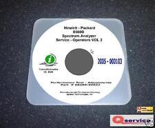 HP Test Equipment Manuals & Books