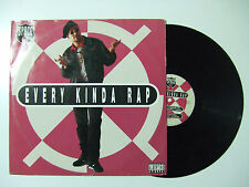 "Space 1 – Every Kinda Rap - Disco Mix 12"" 33 Giri Vinile ITALIA 1991 House"
