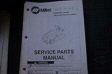 Miller Welder D 64m Wire Feeder 1994 Owner Parts Manual Book Catalog List Spare