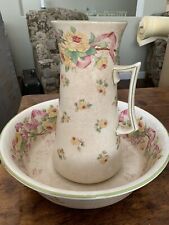 Mintons England Wash Basin And Pitcher