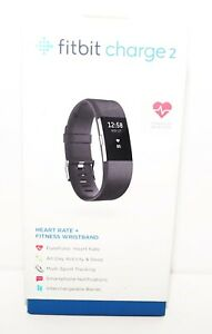 FITBIT CHARGE 2 ACTIVITY FITNESS TRACKER + HEART RATE /OPEN BOX/BLACK,TEAL