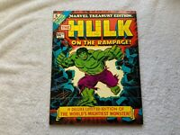 Vintage Marvel Treasury Edition #5 (1975) The Hulk On the Rampage