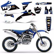 Graphic Kit + Backgrounds Yamaha YZ250F YZ450F Dirt Bike MX Wrap 2006-2009 WD U