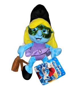"Smurfette KellyToy Peyo 9"" Stuffed Plush Doll Toy Official Movie Merchandise New"