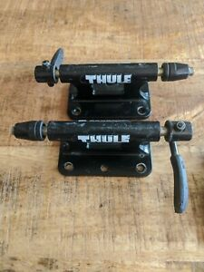x2 Thule Low Rider Bicycle Truck Bed Mounts QR