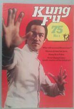 BRUCE LEE Kung Fu 75 No 1 GIANT oversized RARE 1975