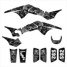 TRX 250R graphics racing sticker kit for Honda ATV #9500 Metal Zombie