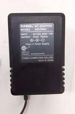 Casio AD-C60U AC Power Adapter 6VDC 750mA 14 Watts 6 volts DC