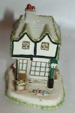 Coalport Fine Bone China Old Curiosity Shop Cottage House Figurine Made England