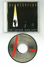 HEARTS OF FIRE Soundtrack CD JAPAN 32DP-890 '87 Bob Dylan Fiona Winger s4897