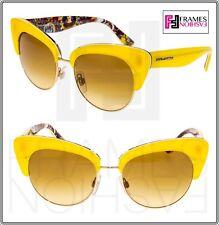 1c48c57b1d Dolce   Gabbana Sicilian Carretto 4277 Yellow Gold Sunglasses Dg4277  Authentic