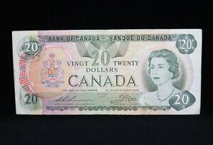 1979 $20 Bank of Canada Banknote 56884467855 Thiessen Crow F Grade Bill BABN
