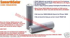 LG 18650 Battery 2600mah 3.7v Rechargeable Lithium Cell Li Ion Samsung 18650
