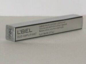 L'BEL DUO AMPLIFIANT VOLUME & DEFINITION EFFECT LIPSTICK # ROSEWOOD  5g. NEW!
