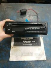 JVC KD-GS40 AM/FM/CD Receiver Car Stereo System   UNTESTED!