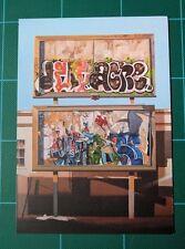 Jessica Hess Spoke Art Gallery Show Card Graffiti Street Art Tag Print Poster 2