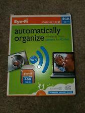 Eye-Fi Connect X2 4GB Class 6 - SDHC Card - Retail - EYE-FI4-CN