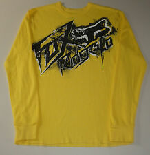 Mens Pre-Owned Size Small Fox Racing Thermal Shirt In Excellent Condition