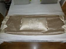 DUNELM BEDROOM BOUDOIR SET THROW AND PILLOW