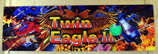 Twin Eagle 2 Marquee For Arcade Game Original SETA