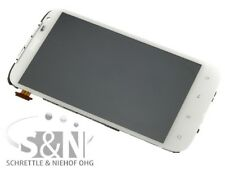 Original HTC Sensation XL G21 Displaymodul LCD Display Touchscreen + Rahmen