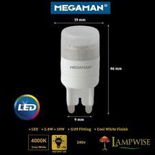 Megaman 2.4w Led Gu9 Cap Fitting 2.4w = 19w