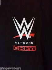 WWE Local Crew Summer Tour 2016 Backstage T Shirt L Slam Payback Wrestling Fan