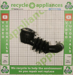 BAUKNECHT, IGNIS, IKEA Whirlpool Washing Machine Drum Sump Hose 481253028826