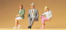 Preiser 63061 Spur I Sitzende Personen 3 Figuren