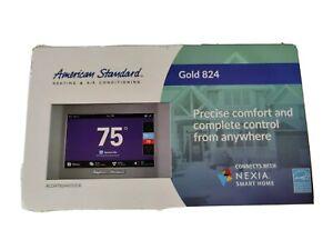 American Standard Gold 824 Digital Touch Screen Thermostat W/ WiFi Z-Wave Bridge