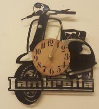 Lambretta Vinyl Record Clock home decor gift