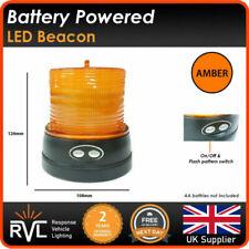 Batteria Alimentazione Magnetico LED Lampeggiante Faro Pericolo Camion Hgv Luce