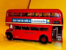 BUS Routemaster London Transport RM870 - WLT870 LUCOSADE 1958 SUN STAR 2908 1:24