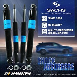 Front + Rear Sachs Shock Absorbers for Volvo 940 960 Series Sedan Wagon Estate